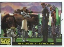 Star Wars Clone Wars 2008 Animation Cell Chase Card #10