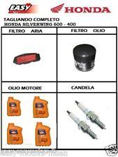 TAGLIANDO HONDA SILVER WING 400/600 FILTRO ARIA+FILTRO OLIO+2 CANDELA+4 LT OLIO