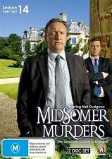 Midsomer Murders Season 14 (Part 2) NEW R4 DVD