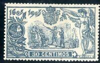 Sellos de España 1905 nº 261 El Quijote Alfonso XIII nuevo stamps Spain