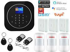 A01 APP WiFi GSM Wireless IR Home Security Alarm System+Amazon Alexa+Google Home