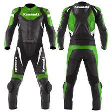 Hommes Combinaison de Moto en Cuir Courses Moto en Cuir Veste Pantalon EU 48,56