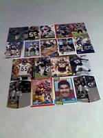 *****Junior Seau*****  Lot of 125+ cards.....105 DIFFERENT / Football