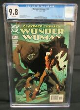 Wonder Woman #161 (2000) Adam Hughes Clayface Cover DC CGC 9.8 C585