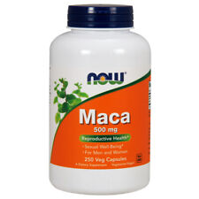 MACA, 500mg x 250 Caps, Energy, Hot Flashes, Menopause