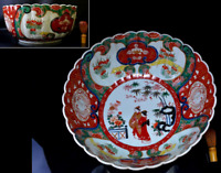 Japanese Antique Old Ko Imari Extra Large Bowl 17""