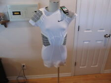 Nike Pro Combat Hyperstrong Padded Training Shirt White XL short 631086 New NWT