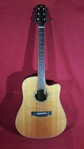 Morgan Monroe MGC-1N Dreadnought Acoustic/Electric Guitar *NOS*