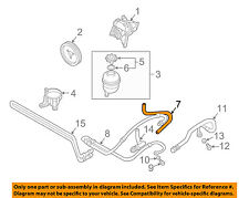 BMW OEM 01-04 X5-Power Steering Suction Hose 32411095526