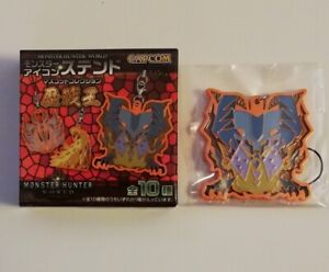 Capcom Monster Hunter World Arch Tempered Lunastra Stained Glass Icon Strap
