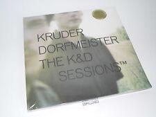 5 LP: Kruder & Dorfmeister-The K & D sessioni, audiophile LP, Nuovo & Scatola Originale (a7/1)