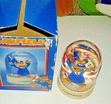 Garfield Graduation Waterdome Enesco RARE!