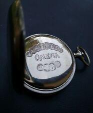 Stunning Omega Pocket Watch Case - Swiss made open face