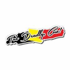 Too Deadly Cuz! Sticker / Decal - Aboriginal Aussie Indigenous Slang Straya 4x4