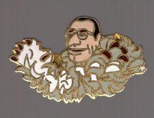 Pin's Bebete Show (signé julia production stadium) - Black Jacques Chirac