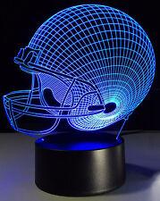Cleveland Browns -  3D LED Night Lights Desk Lamp Illusion Desk Lamp LED Acrylic