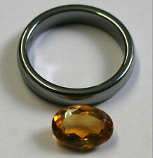 LOOSE YELLOW CITRINE NATURAL GEM 7X10MM OVAL CUT FACETED 2CT GEMSTONE CI41A