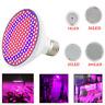 18/36/60/200 LED Grow Light Lamp bulbs E27 Room Plant Indoor Seeds Hydroponics