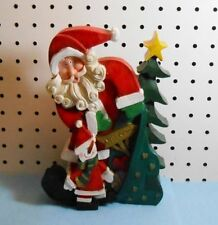Christmas And Winter Santa Figurines For Sale
