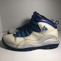 "Nike Air Jordan 10 Retro ""Charlotte"" Men's Size 10 (310805-107)"