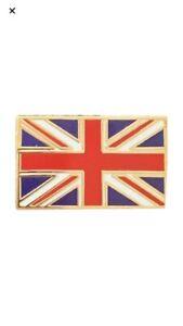 Union Jack Pin Badges