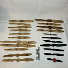 Lot of 22 Rev Up Top Flite Zinger Wooden Propellers RC Model Airplanes Control