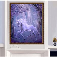 DIY 5D Diamond Embroidery Painting Unicorn Horse Cross Stitch Craft Home Decor