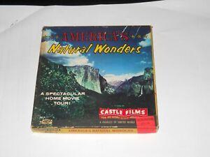 America's Natural Wonders 8mm Film By Castle Films #282 In Original Box