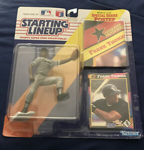 Starting Lineup 1992 Frank Thomas Action Figure Chicago White Sox SLU MLB