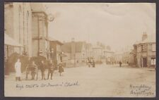 Postcard Brightlingsea near Colchester Essex posted 1906 High Street RP Humphrey