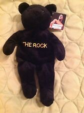 WWE WWF ATTITUDE BEAR THE ROCK KNOW YOUR ROLE VINTAGE 1999