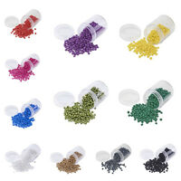 Opaque Glass Seed Beads 4~5x3mm Hole 1mm Beading Supplies for Jewelry DIY Making