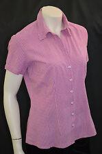 Karierte hüftlange s.Oliver Damenblusen, - tops & -shirts aus Baumwollmischung