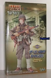 """Elite Force WWII 5th US Army Rangers Sergeant """"Hoppy"""" Bell With Accessories 12"""""""