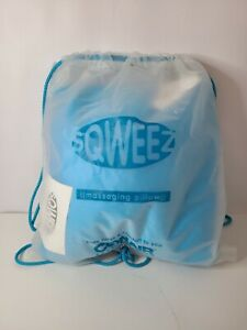 Conair Body Benefits Sqweez Massaging Pillow Blue Vibrating Battery Operated