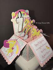 Unicorn Birthday Card, Unicorn Cards, Pop Up Box Cards, Unicorns