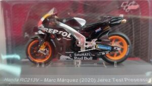 1/18.#72.HONDA RC213V. MARC MARQUEZ. 2020. TEST JEREZ PRESEASON. MOTOS MUNDIAL