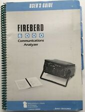 TTC Fireberd 6000 Communications Analyzer User's Guide P/N ML10989