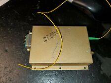 Optical Zonu? MP2300 – Standard RFoF Link 5-300 MHz Rx?? . Govt Surplus