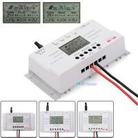 LCD 10-40A 12V-24V MPPT Solar Panel Regulator Charge Controller 3 Timer ZH