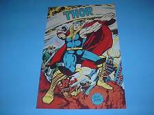 MARVEL COMICS THE MIGHTY THOR POSTER PIN UP JACK KIRBY