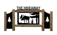Moose Sign - Wildlife Art