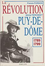 pornon & peronnet : la révolution puy de dome 1789-1799