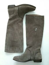 Womens UGG Australia Gracen Suede Knee High Boots, Size 9 Equestrian Style New