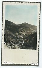 D131 Photo vintage Originale tinted colorisé Peïra-Cava Alpes maritime Lucéram
