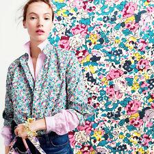 JCREW Liberty of London Ruffle Button Up Shirt Claire-Aude Floral Print Blouse 2