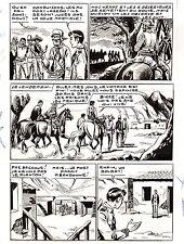 MIKI LE RANGER (RODEO 74  LUG )  PLANCHE  MONTAGE  HORRIBLE SACRIFICE PAGE  41