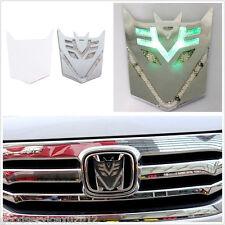 Transformers Decepticon Emblem Car SUV Solar Power LED Flash Strobe Warning Lamp