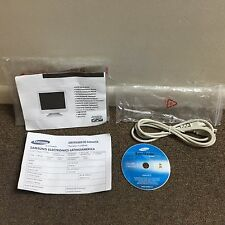 SAMSUNG SYNCMASTER TFT-LCD MONITOR INSTALL DRIVE CD W/POWER CORD NEW