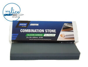 Norton Bear 108 Combination Sharpening Stone Oil Filled 25x50x200mm